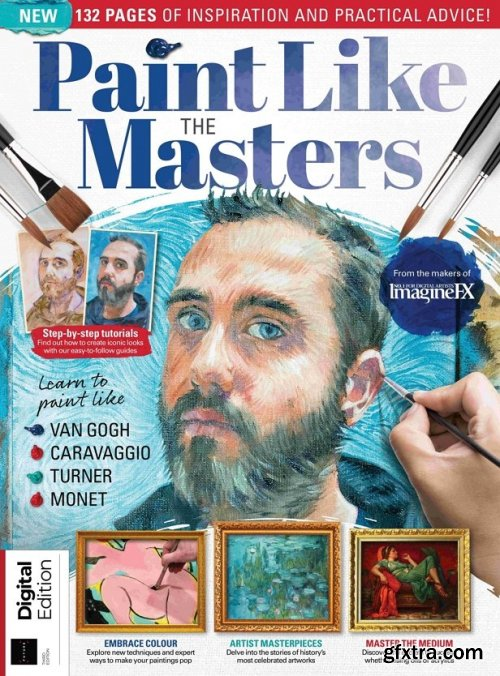 Paint Like the Masters - 3rd Edition, 2021