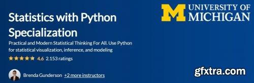 Coursera - Statistics with Python Specialization