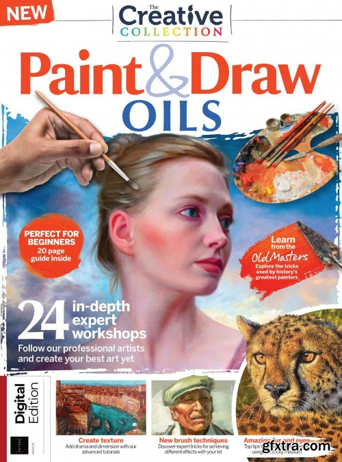The Creative Collection - Paint & Draw: Oils – Issue 20, 2021