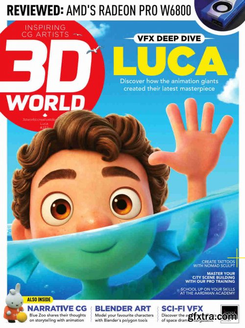 3D World UK - Issue 277, 2021