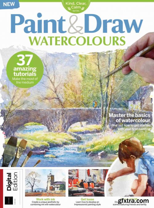 The Creative Collection: Paint & Draw Watercolours - 3rd Edition, 2021