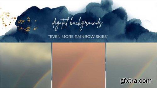 Rainbow Sky Backgrounds
