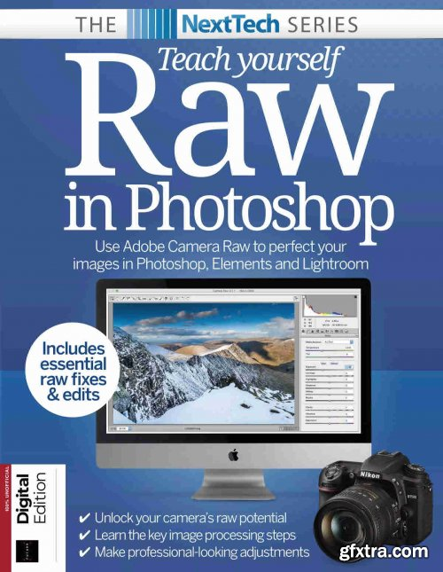 NextTech Series: Teach Yourself Raw In Photoshop - 7th Edition, 2021