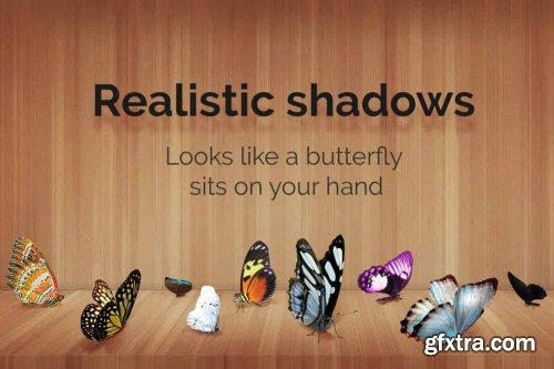 CreativeMarket - 52+ Butterflies Photo Overlays 6414950