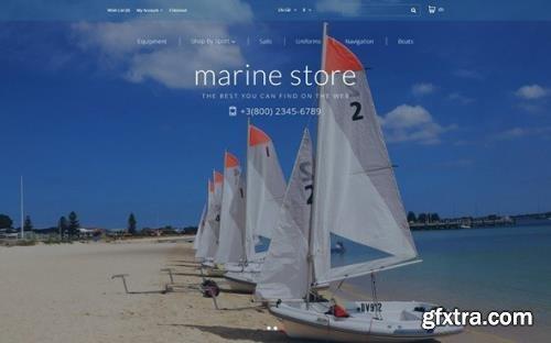 Marine Store v1.0 - OpenCart Template - TM 61203
