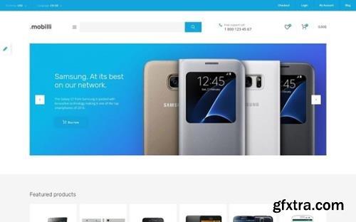 Mobile Store v1.0 - Responsive OpenCart Template - TM 62184