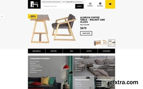 Modern Furniture v1.0 - Interior & Home Decor Responsive OpenCart Template - TM 62166