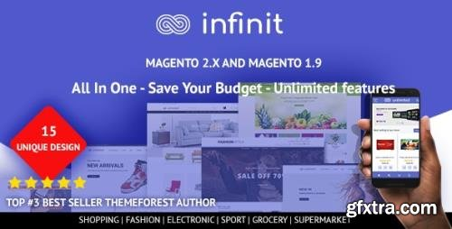 ThemeForest - Infinit v1.2.3 - Multipurpose Responsive Magento 2 and 1 Theme - 22432458