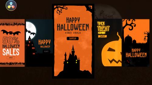 Videohive - Halloween Instagram Stories - 33683017 - 33683017