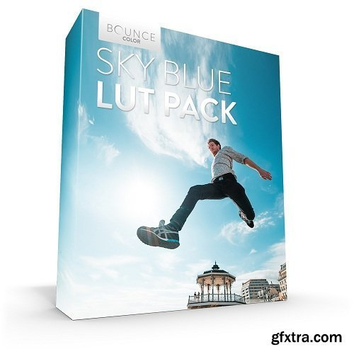 Bounce Color - SKY BLUE LUT Pack / All Cameras