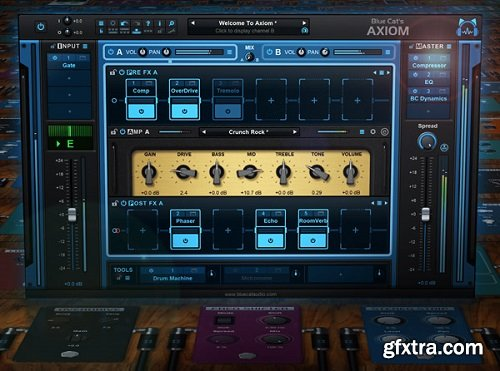 Groove3 Blue Cat Axiom Explained