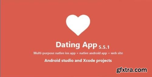 CodeCanyon - Dating App v5.5.1 - web version, iOS and Android apps - 14781822 - NULLED