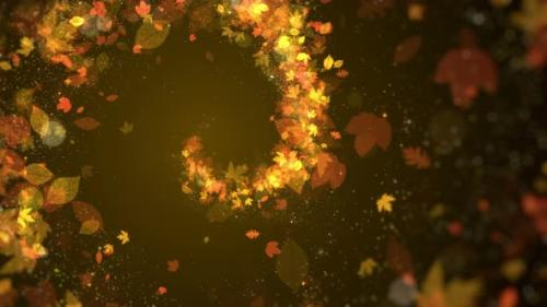 Videohive - Autumn Particle Background - 33694455 - 33694455