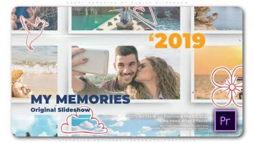 Videohive - Happy Memories   My Family Slideshow - 33715192 - 33715192