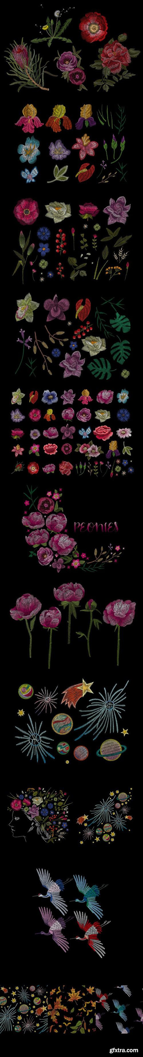 Flower embroidery 2