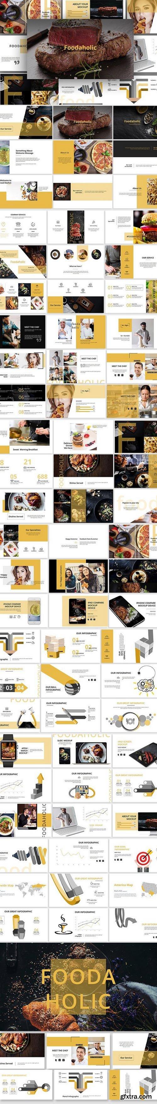 Foodaholic Creative Keynote Template