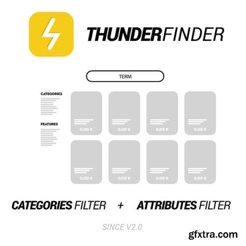 Ultra fast search. MooFinder is now ThunderFinder v2.1.1 - PrestaShop Module