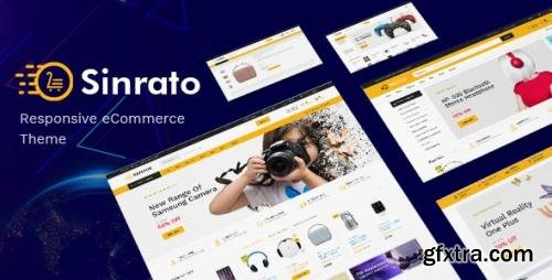 ThemeForest - Sinrato v1.0.0 - Mega Shop OpenCart Theme (Included Color Swatches) (Update: 12 February 19) - 22618100