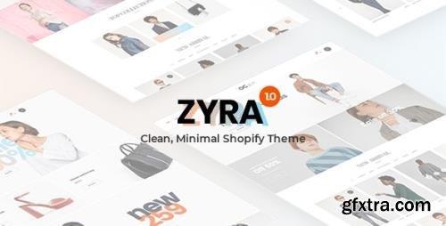ThemeForest - Zyra v1.0.0 - The Clean, Minimal Shopify Theme (Update: 22 October 20) - 21465715