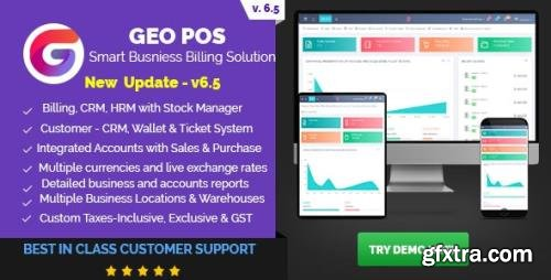CodeCanyon - Geo POS v6.5 - Point of Sale, Billing and Stock Manager Application - 22482001 - NULLED
