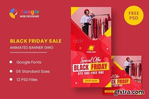 CodeCanyon - Black Friday HTML5 Banner Ads GWD v1.0 - 33747781