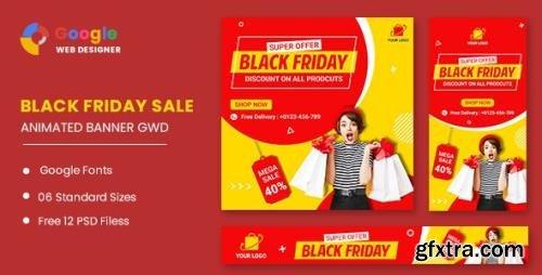 CodeCanyon - Black Friday Super Offer HTML5 Banner Ads GWD v1.0 - 33747764