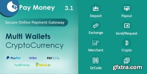 CodeCanyon - PayMoney v3.1 - Secure Online Payment Gateway - 22341650 - NULLED