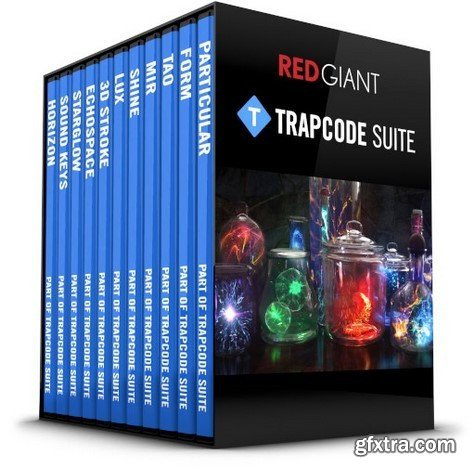 Red Giant Trapcode Suite 15.1.8