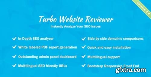 CodeCanyon - Turbo Website Reviewer v2.4 - In-depth SEO Analysis Tool - 20069330 - NULLED