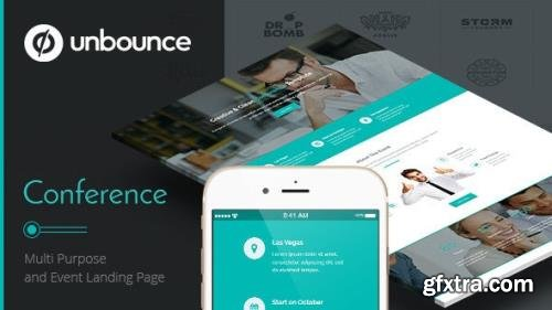 ThemeForet - Conference v1.1 - Unbounce Landing Page - 11730164