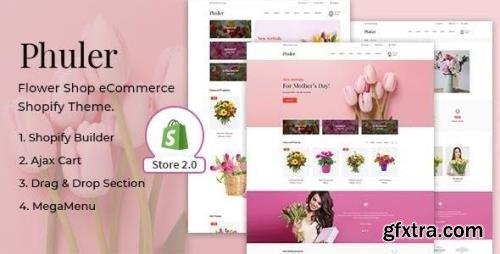 ThemeForest - Phuler v3.0.6 - Flower Shop Shopify Theme - 22441395