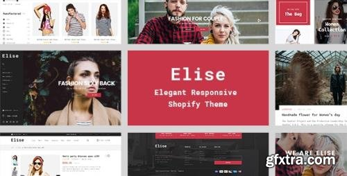ThemeForest - Elise v2.0.0 - A Genuinely Multi-Concept Shopify Theme - 16461307