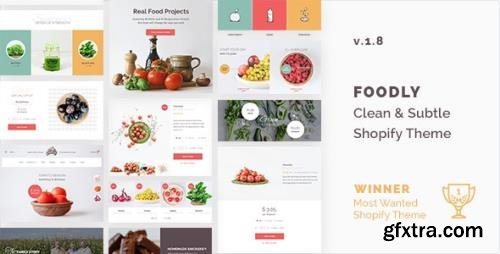 ThemeForest - Foodly v1.8.6 - One-Stop Food Shopify Theme - 15777451