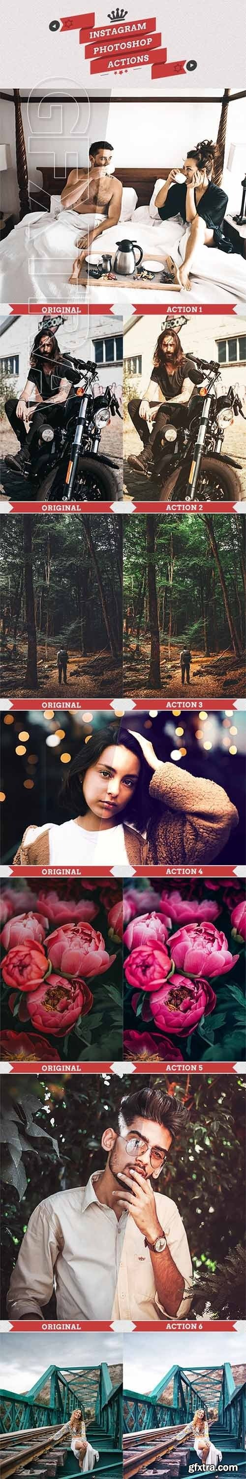 GraphicRiver - 25 Instagram Filters Photoshop Actions 22537324