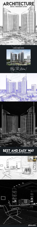 GraphicRiver - Architecture Sketch - Photoshop Action 22460740