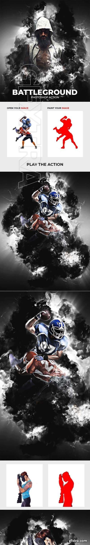 GraphicRiver - BattleGround Photoshop Action 22428808