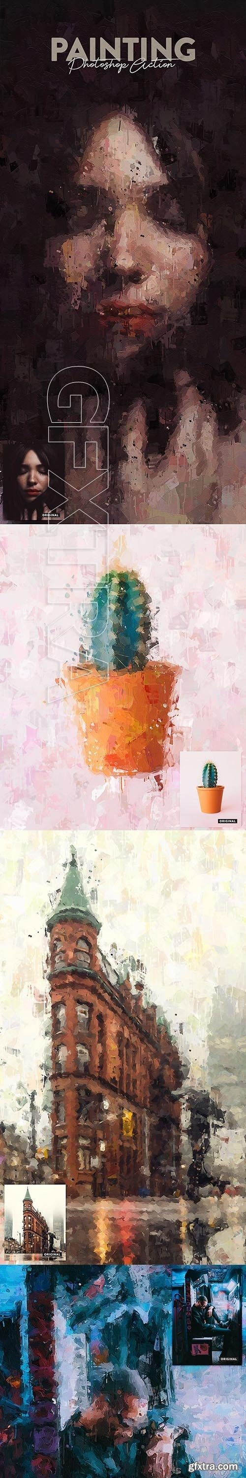 GraphicRiver - Painting Photoshop Action 22411018