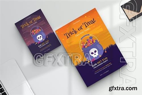 Halloween Night Party & Festival Flyer JJMB3VY