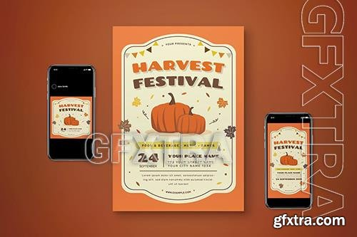 Harvest Festival Flyer Set 5JACF56