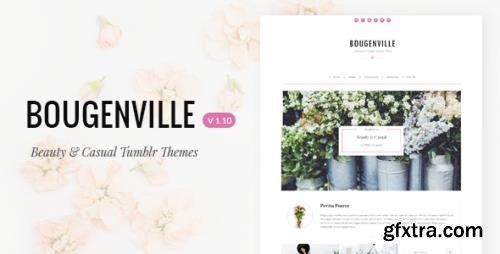 ThemeForest - Bougenville v1.10 - Beautiful & Casual Tumblr Theme - 10950894
