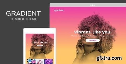 ThemeForest - Gradient v1.2 - Tumblr Theme - 19334255