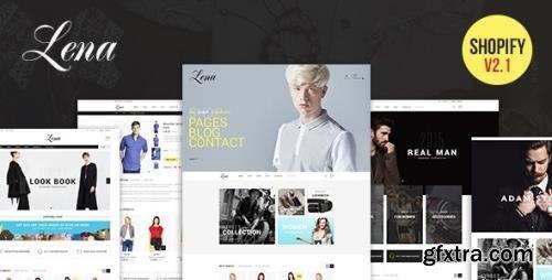 ThemeForest - Lena v2.1.0 - Responsive Shopify Theme - 14487847