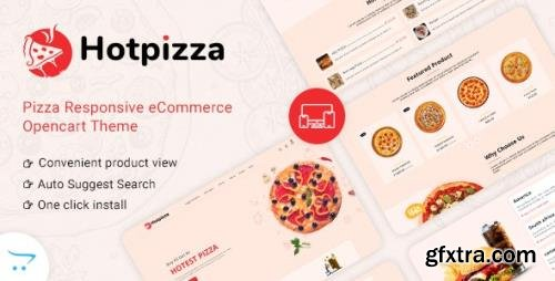 ThemeForest - HotPizza v1.0 - Pizza Food Delivery OpenCart Store - 33141528