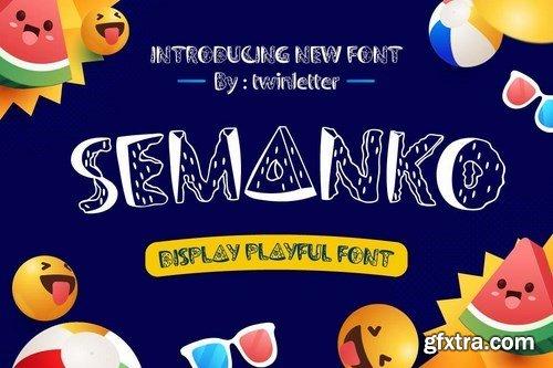 Semanko Font