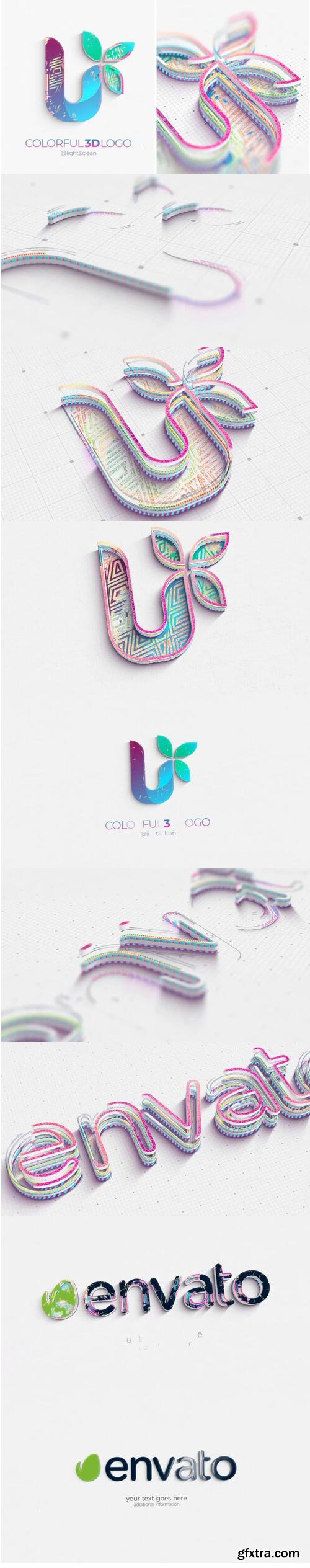 Videohive - Colorful 3D Logo Reveal - 33021950
