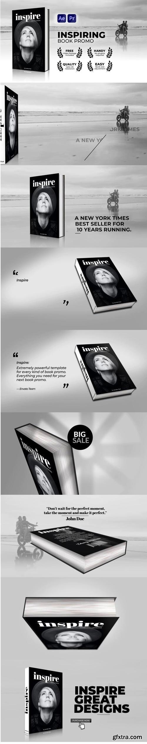 Videohive - Inspiring Book Promo - 32710906