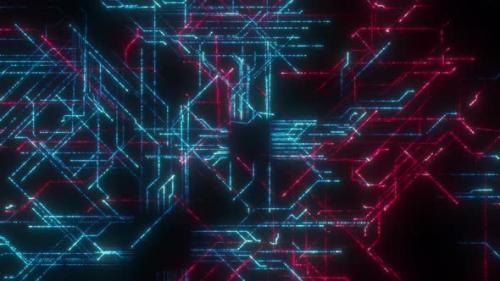 Videohive - Circuit Background Loop - 33721197 - 33721197