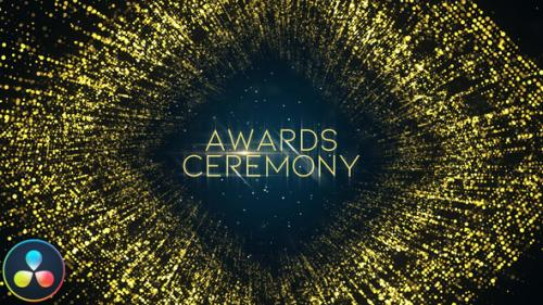 Videohive - Awards Ceremony Opener - DaVinci Resolve - 33713143 - 33713143