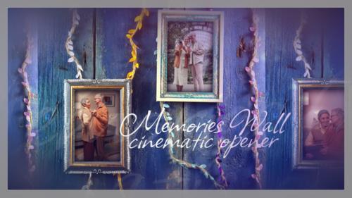 Videohive - Memories Wall Cinematic Opener - 33753065 - 33753065