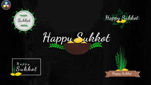 Videohive - Sukkot Titles - Jewish Holiday - 33756496 - 33756496